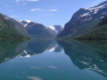 Norwegian lake Stock Images