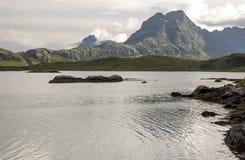 Norwegian lake Stock Images