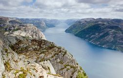 Norwegian landscape Royalty Free Stock Photo