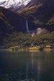 Norwegian landscape Stock Images