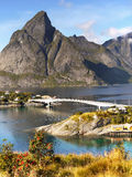 Norwegian Landscape, Nordic Fjords, Norway Royalty Free Stock Image