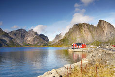 Norwegian Landscape, Nordic Fjords, Norway Stock Photo