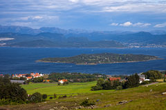 Norwegian landscapes Royalty Free Stock Images