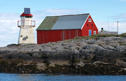 Norwegian lighthouse Royalty Free Stock Images