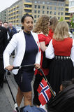 NORWEGIAN LIVING IN DENAMRK CELEBRAT THIER NAATIONAL DAY Stock Photos