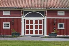 Norwegian manor Stock Photography