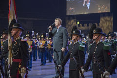 Norwegian Military Tattoo 8 May 2014 Royalty Free Stock Images