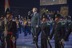 Norwegian Military Tattoo 8 May 2014 Royalty Free Stock Photography