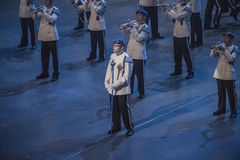 Norwegian Military Tattoo 8 May 2014 Royalty Free Stock Photos