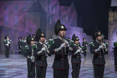 Norwegian Military Tattoo 8 May 2014 Stock Photos
