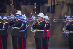 Norwegian Military Tattoo 8 May 2014 Royalty Free Stock Image