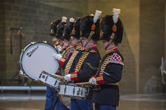 Norwegian Military Tattoo 8 May 2014 Stock Image