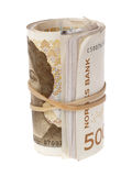 Norwegian money Royalty Free Stock Photo