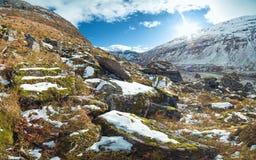 Norwegian mountain landscape Stock Photos