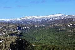 Norwegian mountains Royalty Free Stock Photography