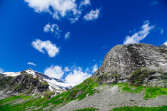 Norwegian mountains ridge Stock Photography