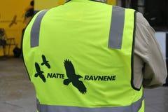 Norwegian Natteravnene volunteer. Natteravnene (English: the Night Ravens), established in 1990, is a Norwegian based franchise organisation of volunteers that Stock Images