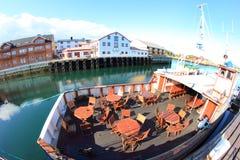 Norwegian old ferry Royalty Free Stock Photos