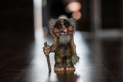 Norwegian Old Troll. Royalty Free Stock Photography