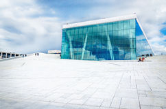 Norwegian Opera and Ballet in Oslo, Norway Stock Images