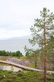 Norwegian park Stock Photo