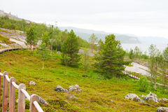 Norwegian park Royalty Free Stock Photos