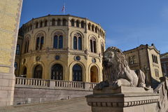 The Norwegian parliament Royalty Free Stock Image