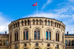 Norwegian Parliament Stock Photo
