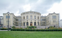 Norwegian Parliament, Oslo, Norway (2004) Stock Photography