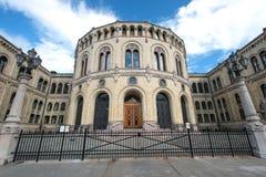 Norwegian parliament Storting Oslo Stock Image