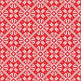 Norwegian pattern, vector Eps 10 illustration Royalty Free Stock Images