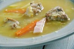 Norwegian  Pea Soup Royalty Free Stock Photo
