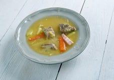 Norwegian  Pea Soup Stock Image