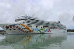 Norwegian Pearl Royalty Free Stock Photography