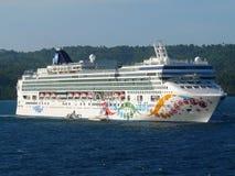 Norwegian Pearl. Norwegian Cruise Line Stock Photo