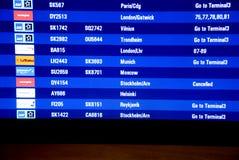 Norwegian pilots still on strike Stock Image