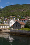 Norwegian port Royalty Free Stock Photo