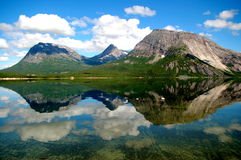 Norwegian Reflections Royalty Free Stock Photos