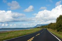 Norwegian road Stock Image
