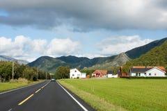 Norwegian road Royalty Free Stock Photos