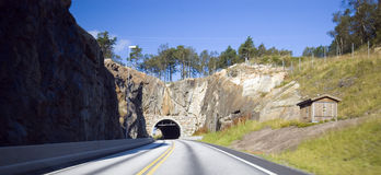 Norwegian roads Royalty Free Stock Photography