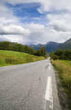 Norwegian roads Stock Photography