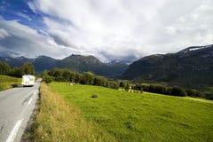 Norwegian roads Stock Photography