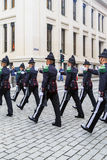 The Norwegian Royal Guard Stock Photography