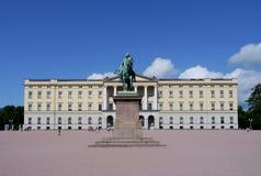 Norwegian royal palace Stock Photography