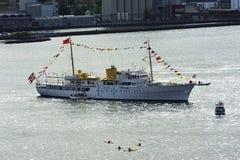 Norwegian Royal Yacht Stock Images