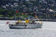 Norwegian Royal Yacht Stock Photos