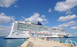 Norwegian's Epic visiting Cancun, Mexico Stock Photo