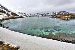 Norwegian sea bay landscape Royalty Free Stock Image
