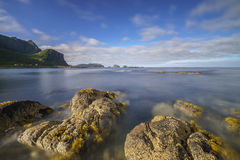 Norwegian sea view Royalty Free Stock Images